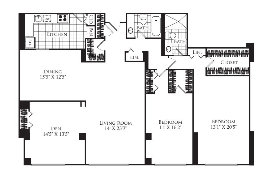 3 Bedroom F
