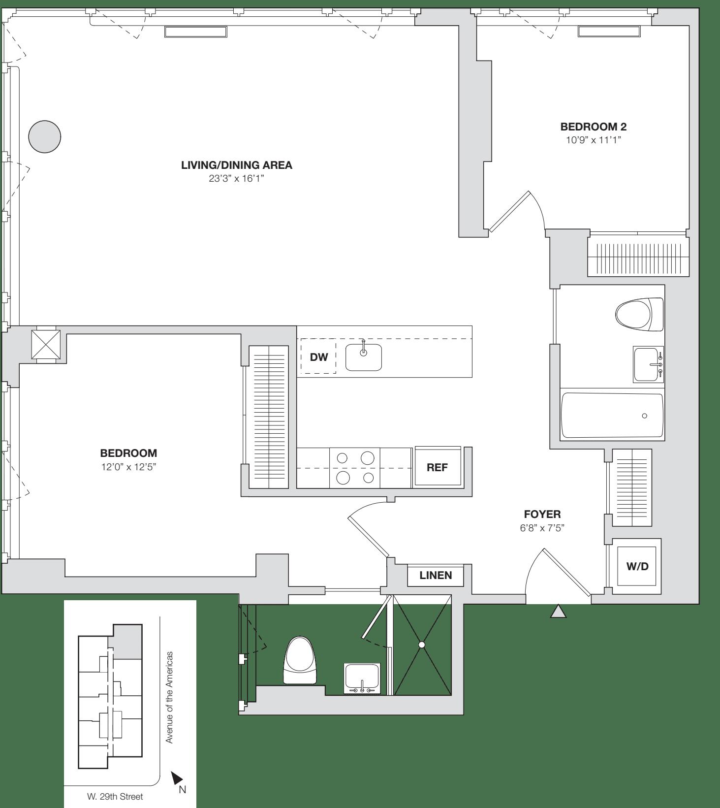 2 Bedroom D.2