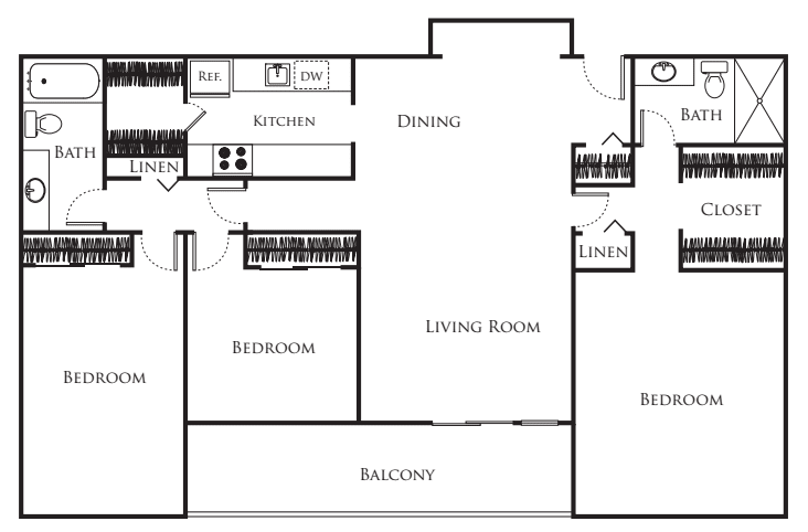 3 Bedroom Large