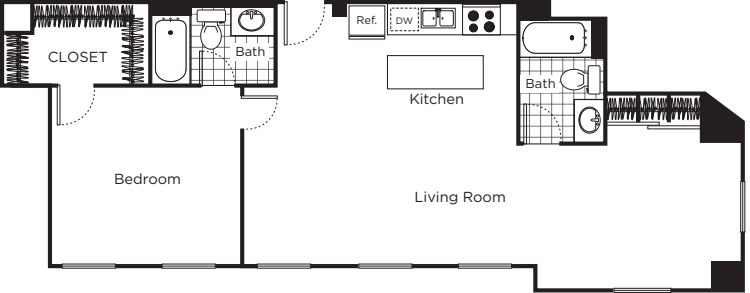 One Bedroom E3