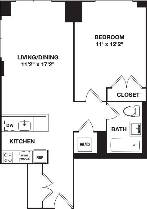 One Bedroom B.2