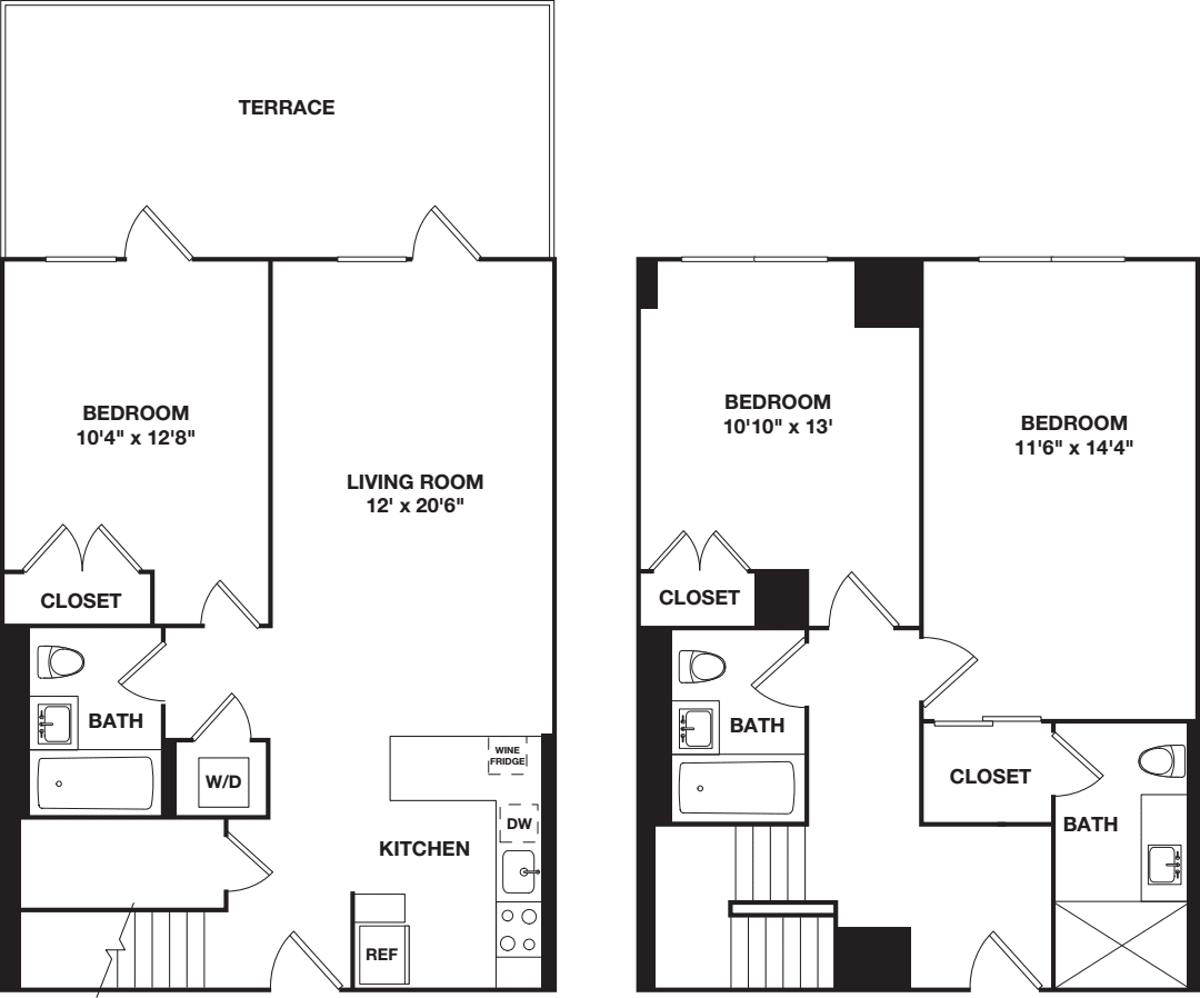 Three Bedroom Duplex A
