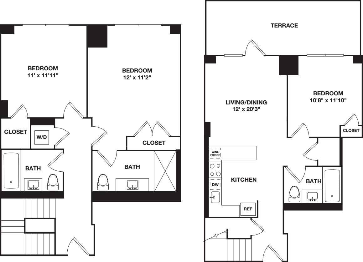 Three Bedroom Duplex B