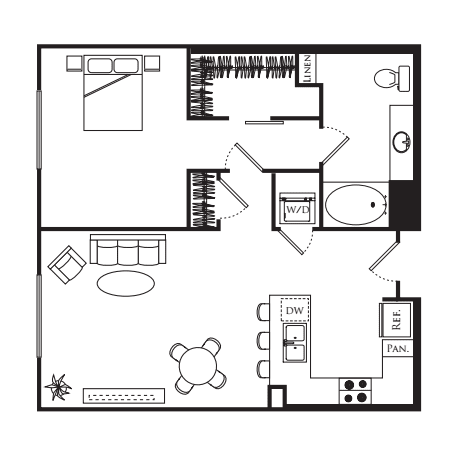 1A - 1 Bedroom Flat