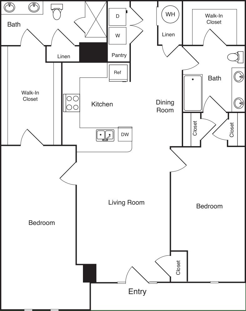 2 Bedrooms B4