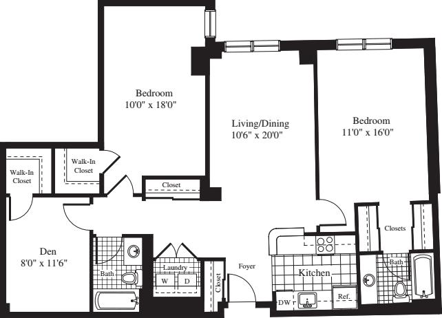 2 Bedrooms BB