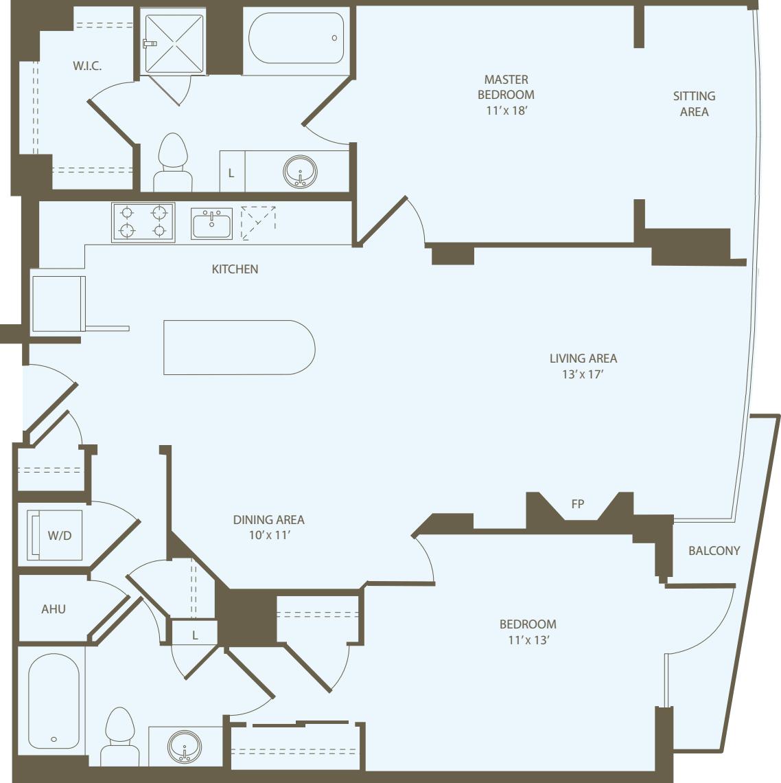 2 Bedrooms HH_RW