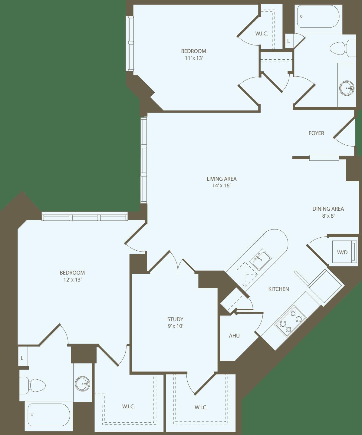2 Bedrooms ZZ
