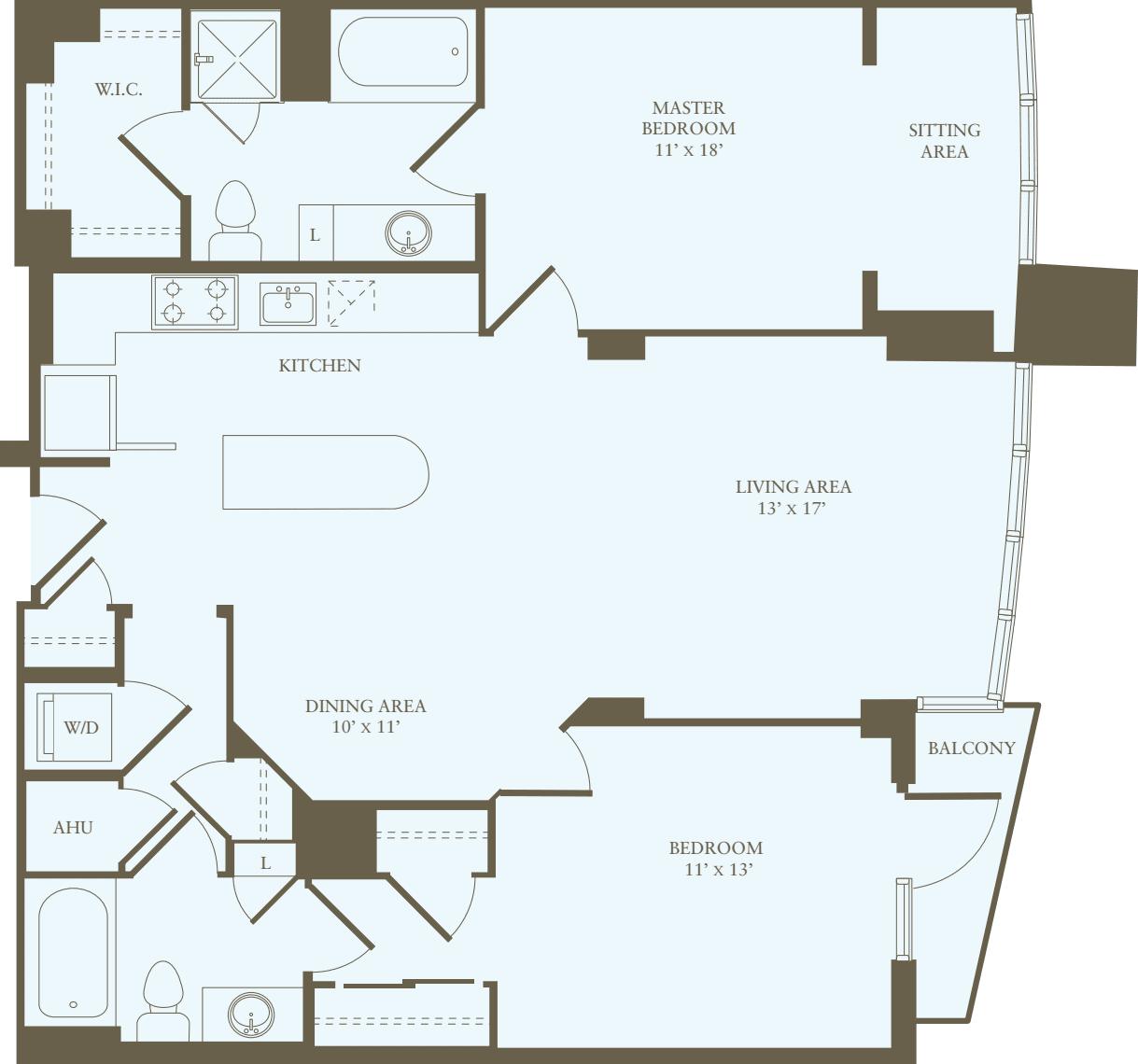 2 Bedrooms HH