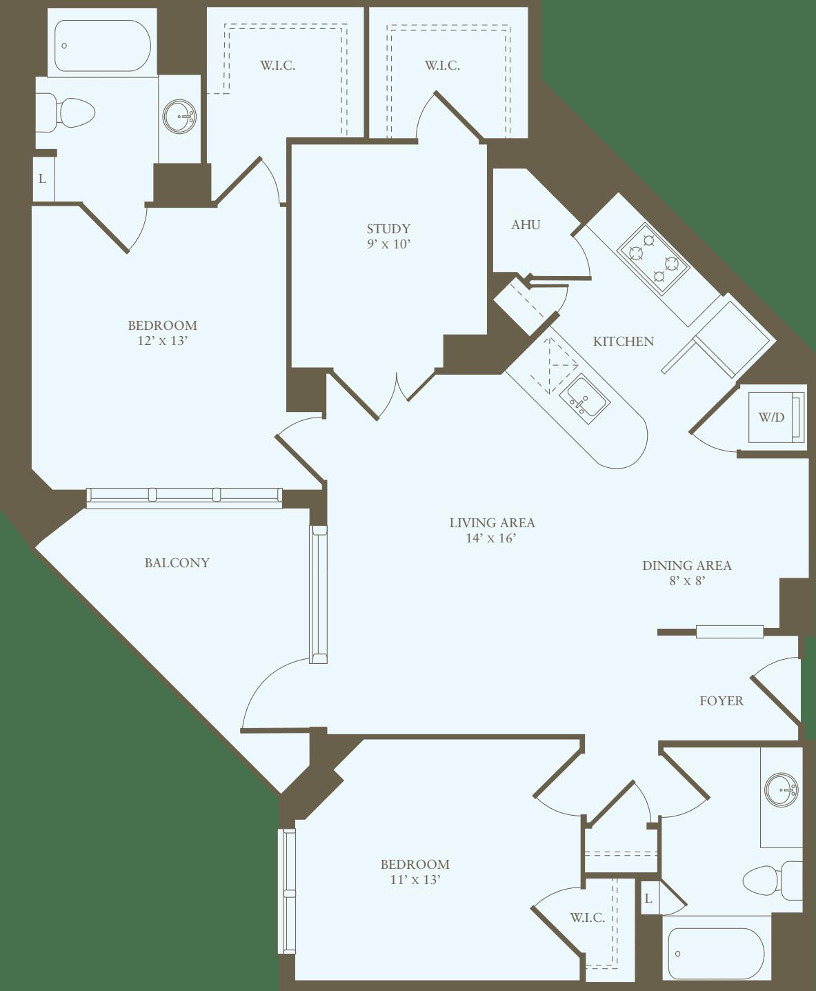 2 Bedrooms JJ