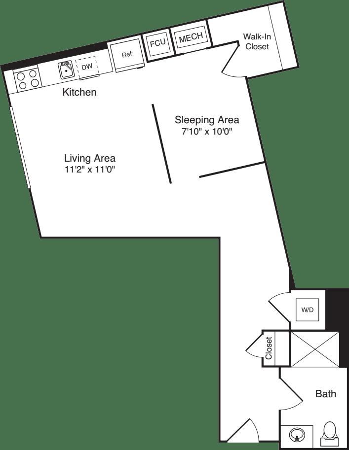 The Flats Studio F1
