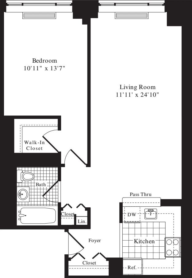 1 Bedroom HH
