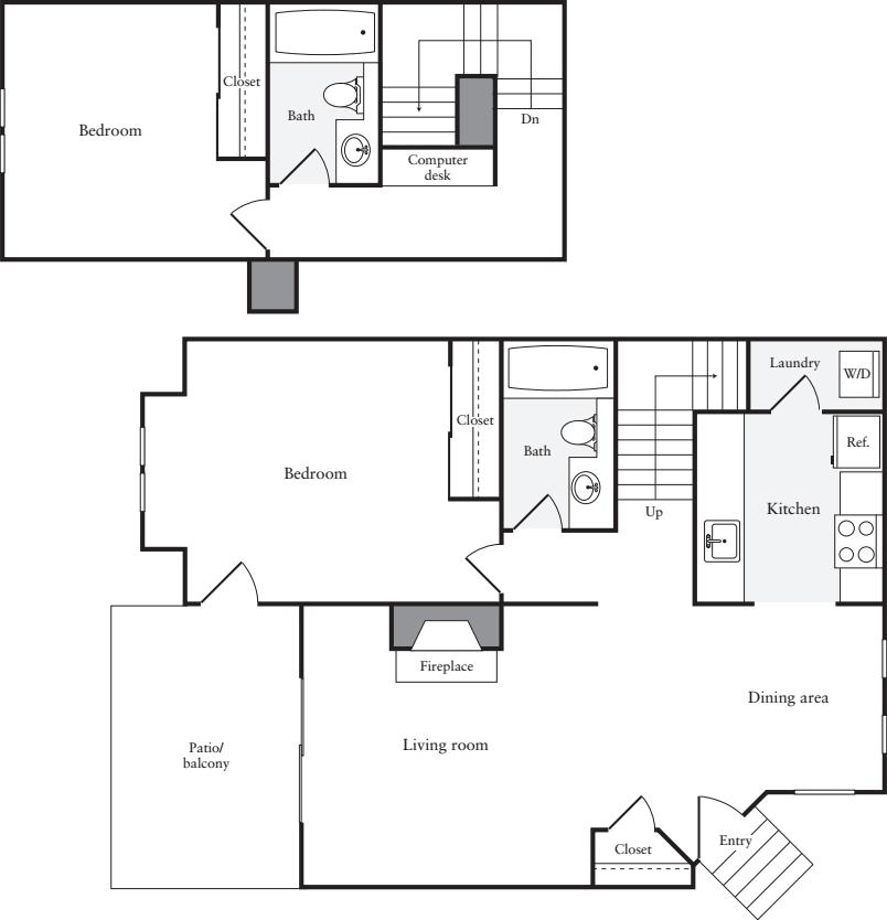 2 Bedrooms B