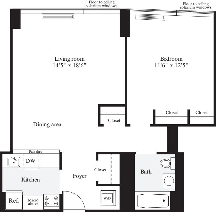 1 Bedroom G1