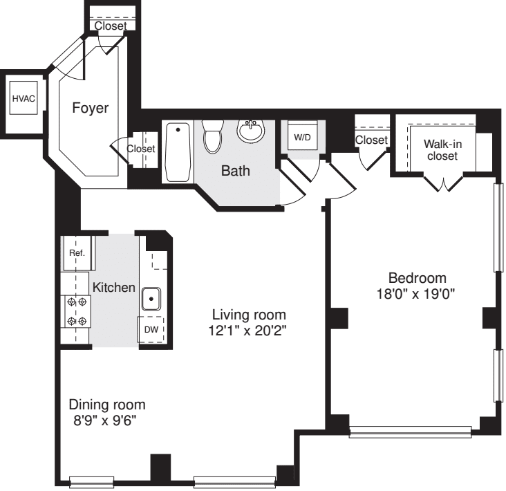 1 Bedroom GG