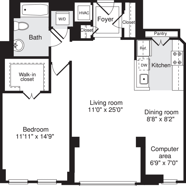 1 Bedroom JJ