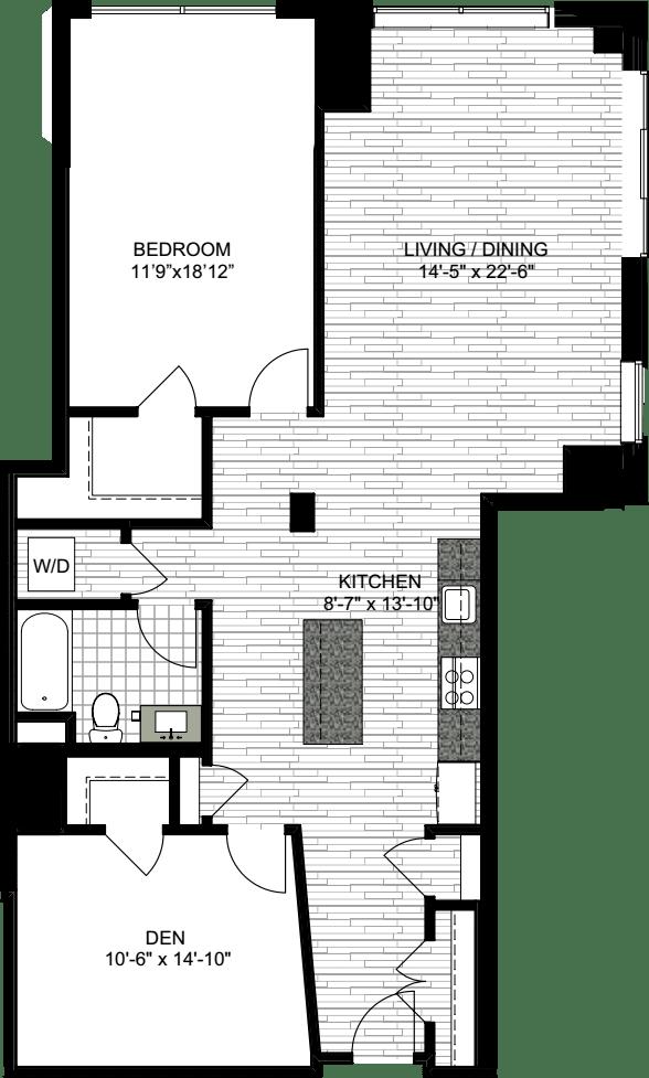 1 Bedroom TTT