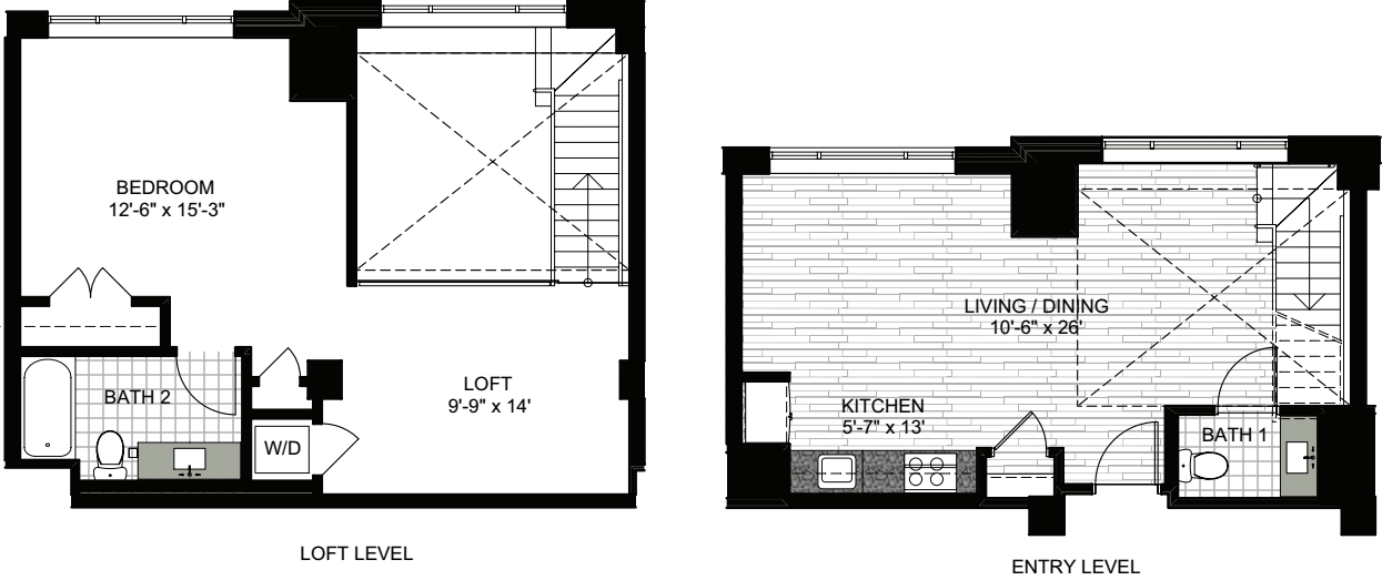 1 Bedroom Y