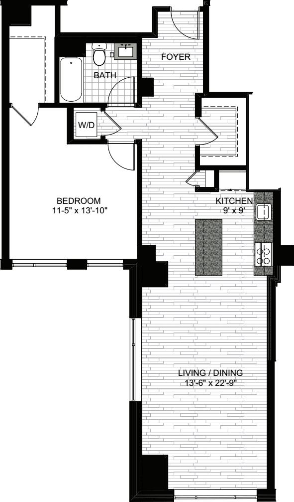 1 Bedroom GG