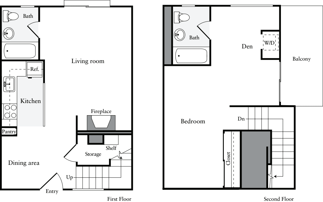 1 Bedroom TH