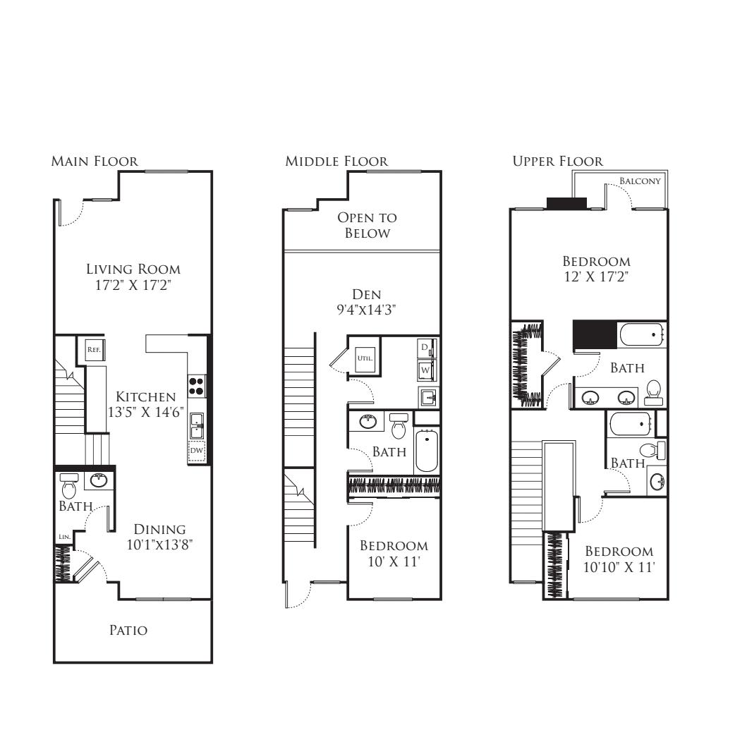 3 Bedroom TF