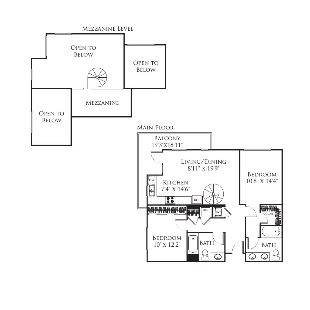 2 Bedroom MA