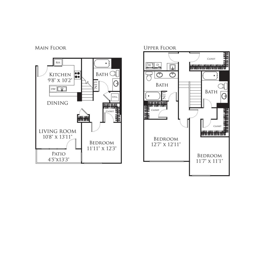 3 Bedroom TJ