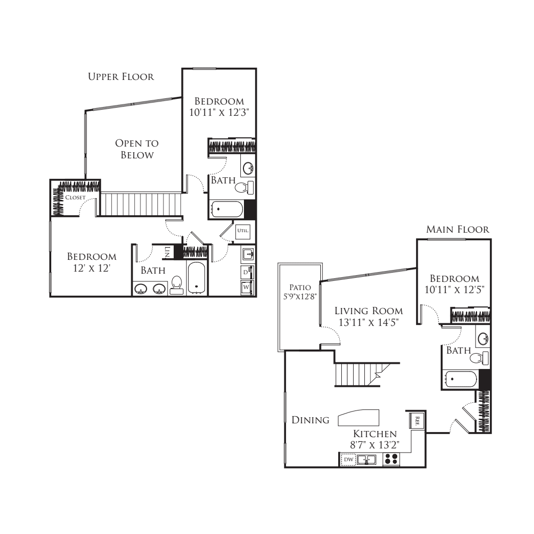 3 Bedroom TR