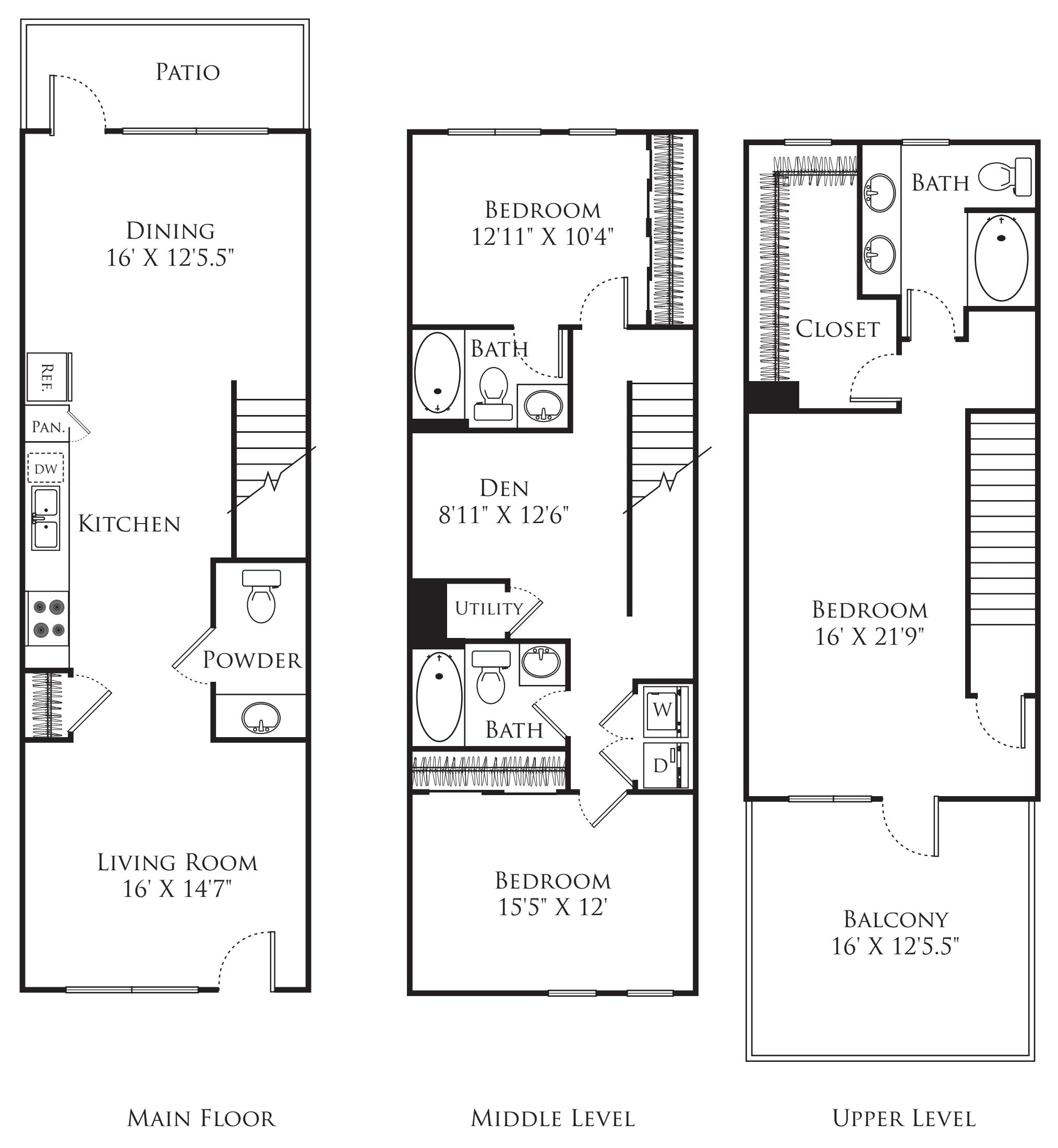 3 Bedroom TT
