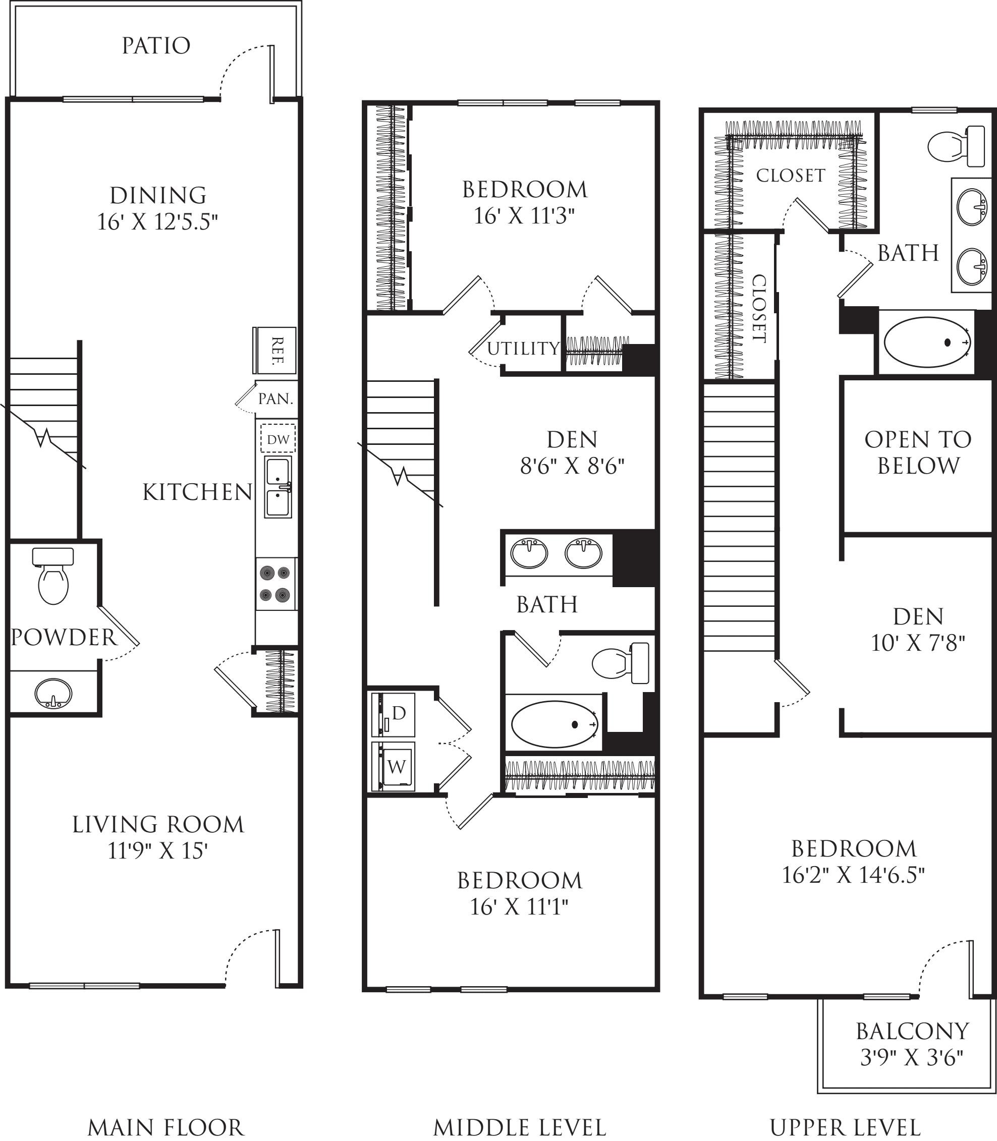 3 Bedroom TS