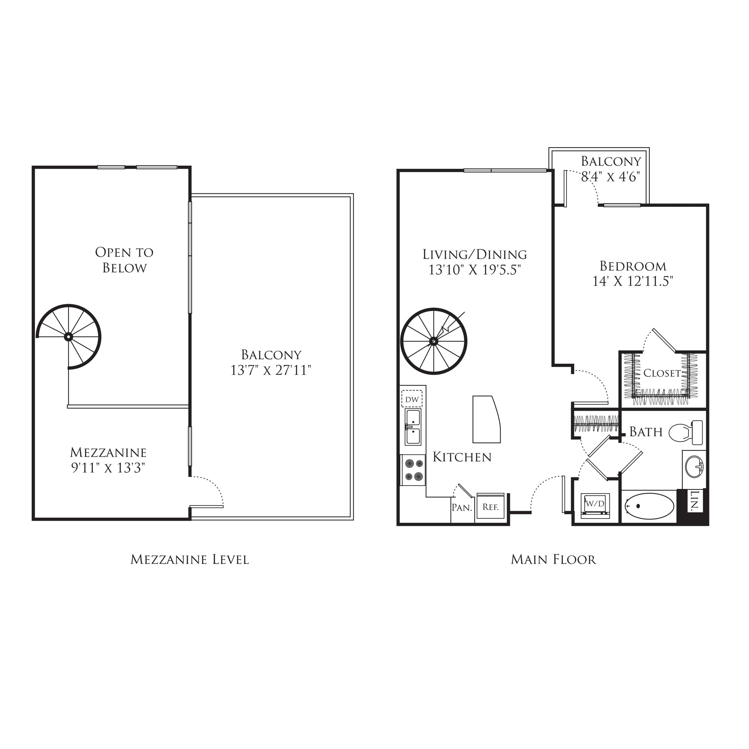 1 Bedroom MF