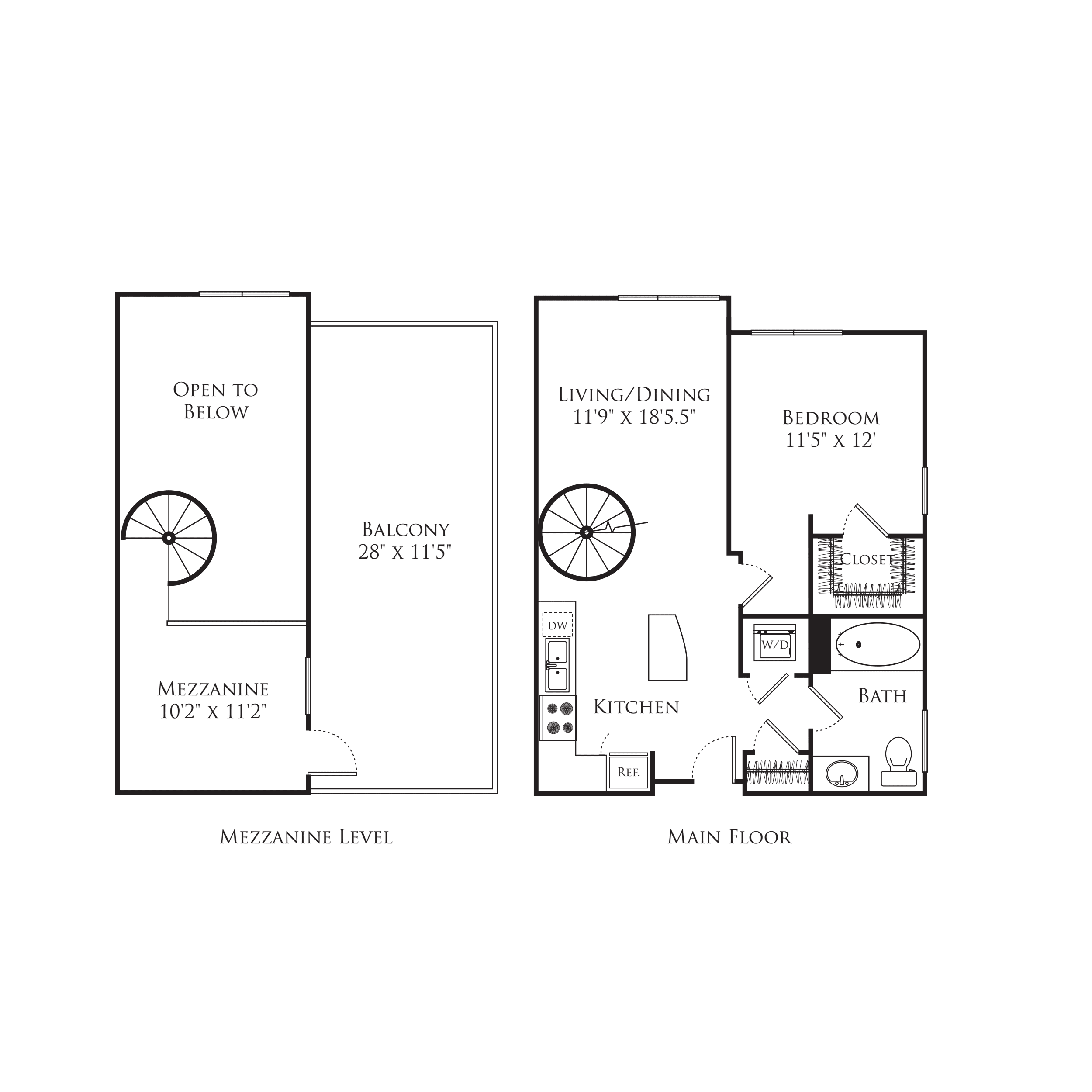 1 Bedroom MC