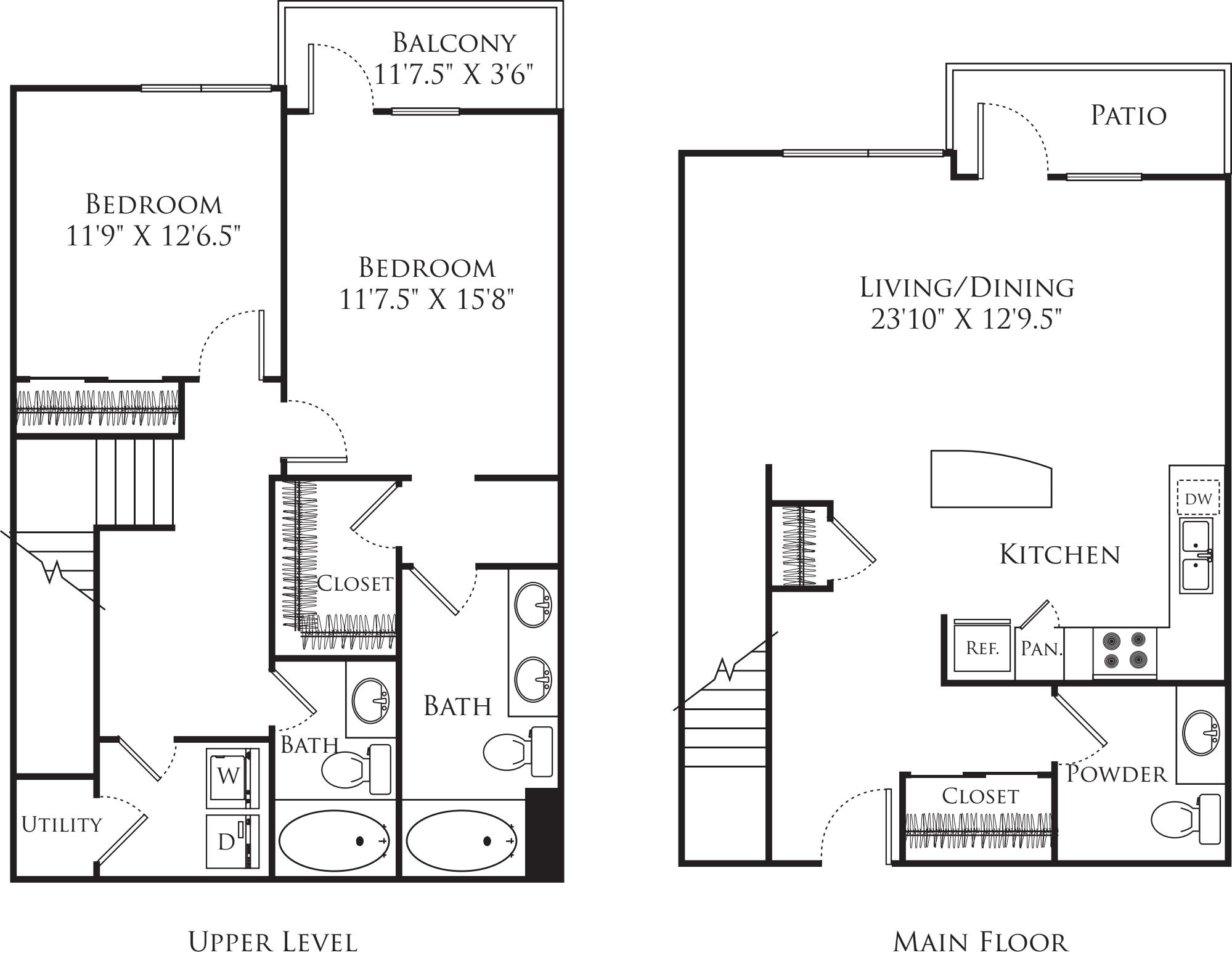 2 Bedroom TF