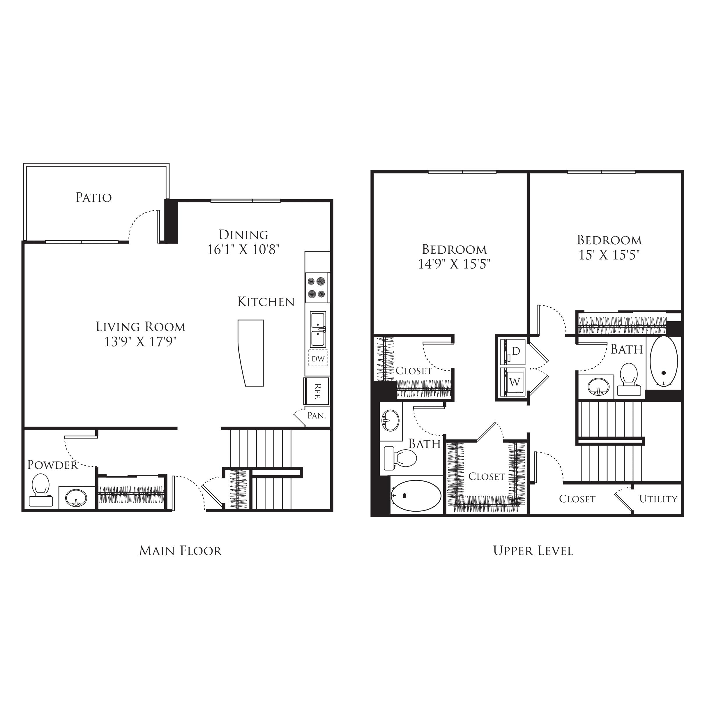 2 Bedroom TS