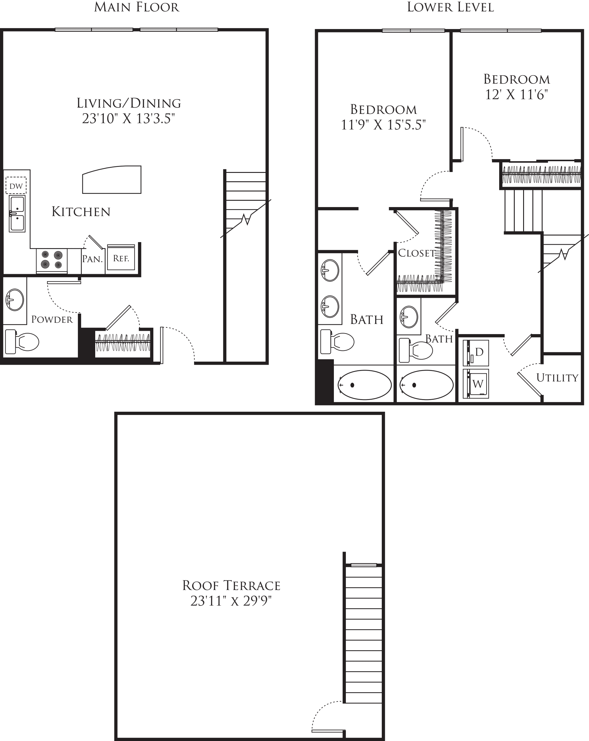 2 Bedroom TE