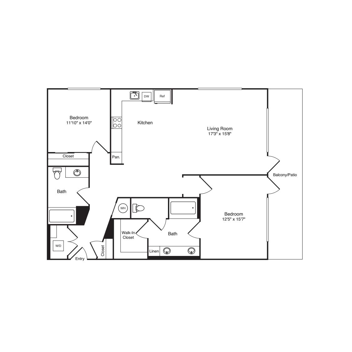 2 Bedroom B2
