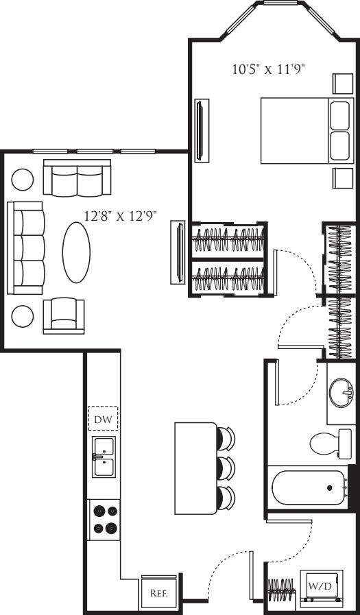 One Bedroom I
