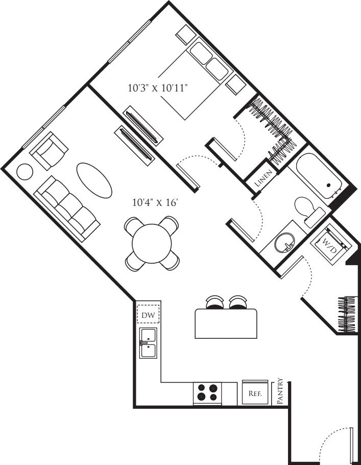 One Bedroom N
