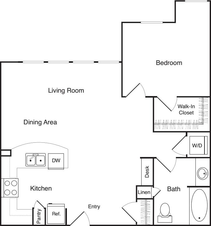 One Bedroom - P