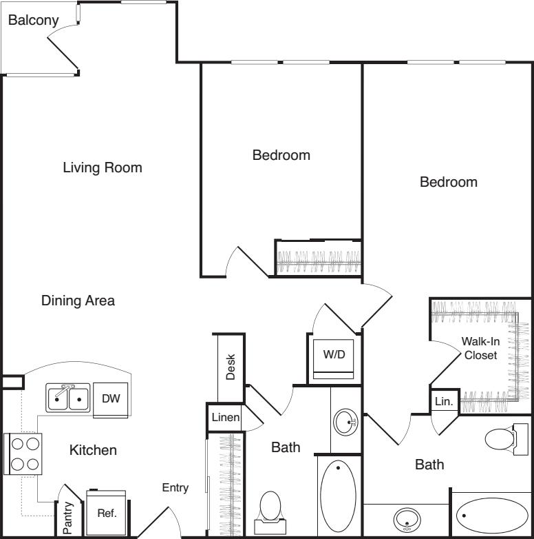 Two Bedroom - D