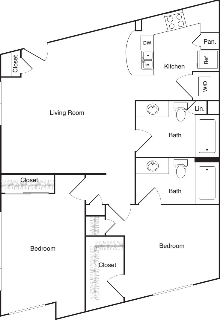 Two Bedroom - G