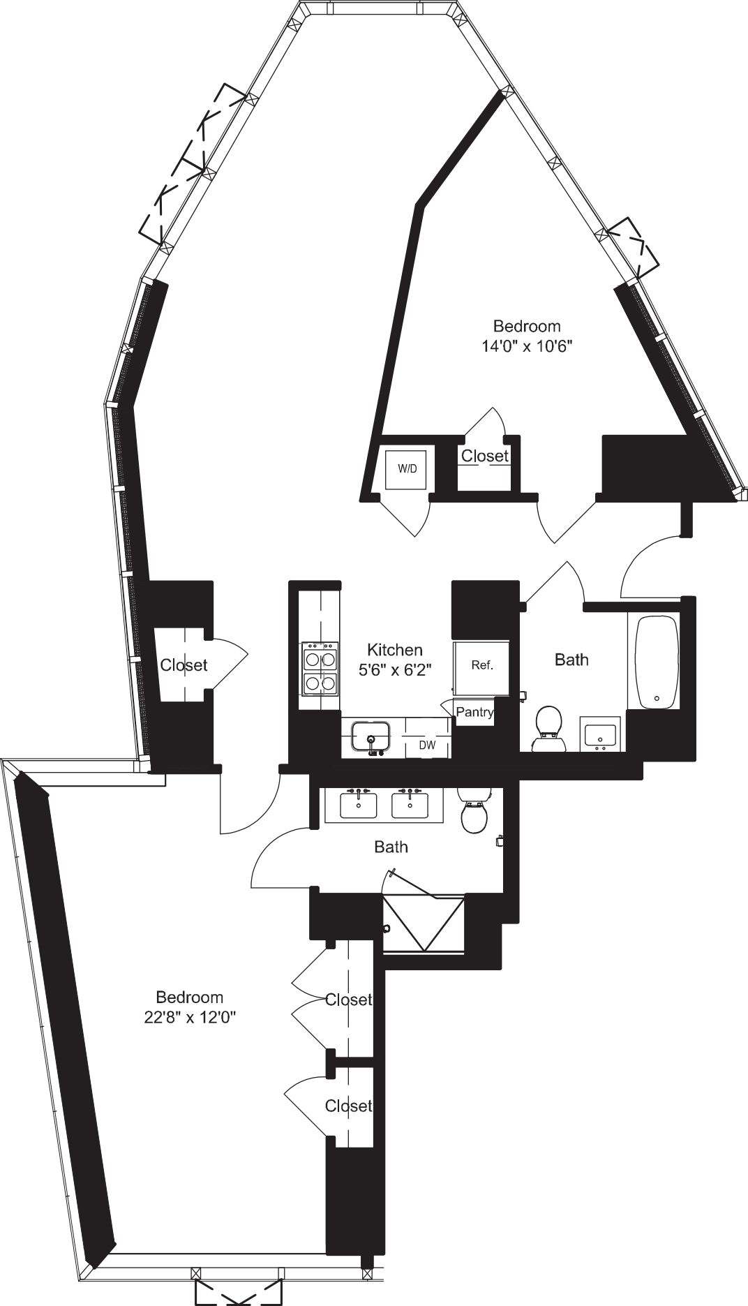 Two Bedroom K 12-19