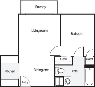 1 Bedroom T