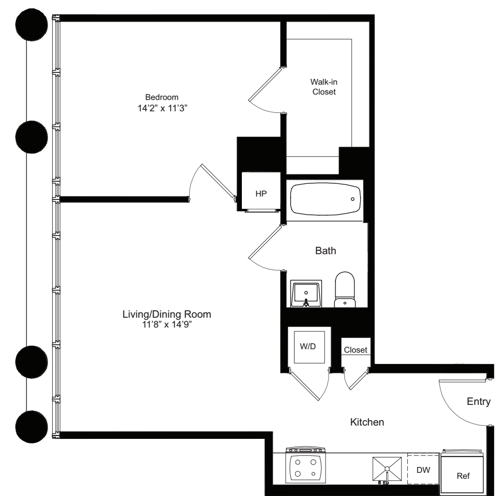 One Bedroom L 3-12