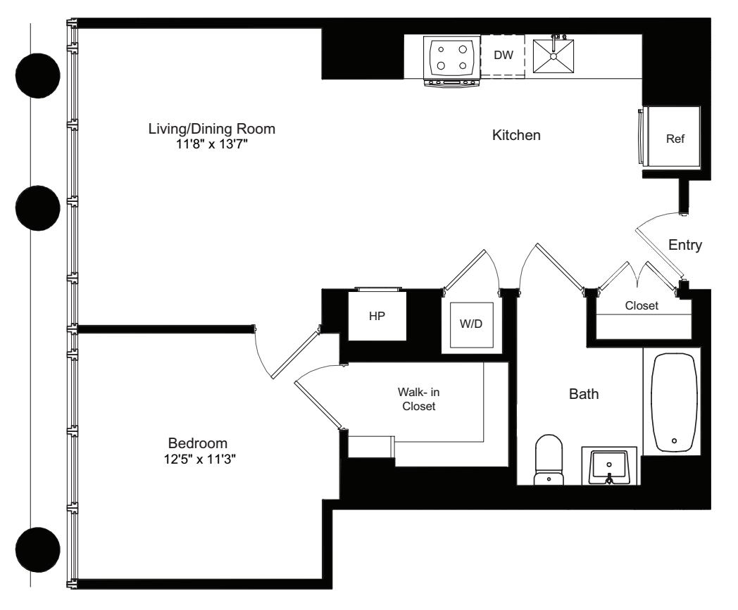 One Bedroom I 3-12