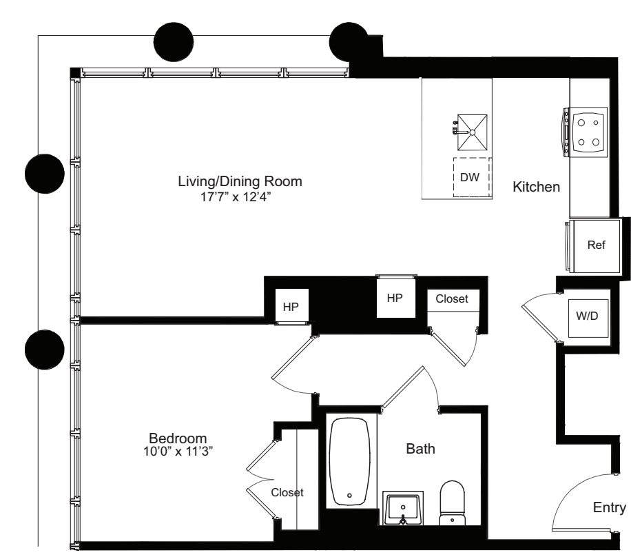 One Bedroom H 13