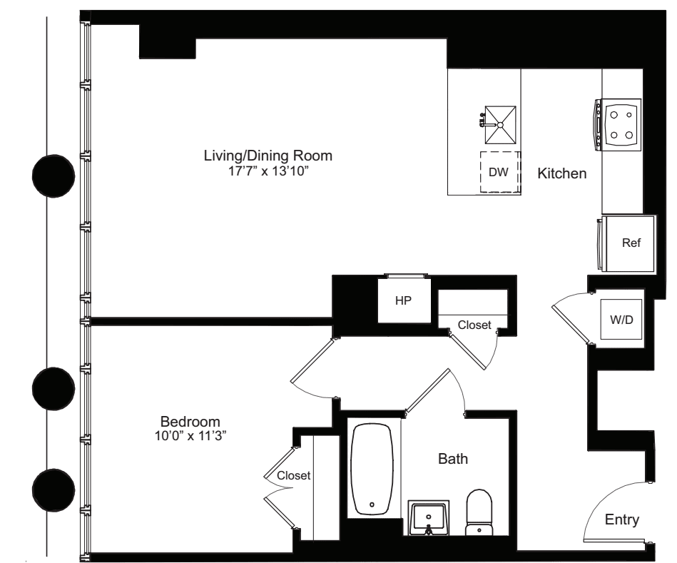 One Bedroom H 2