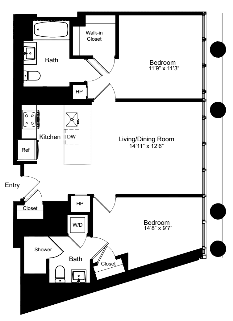 Two Bedroom F 2