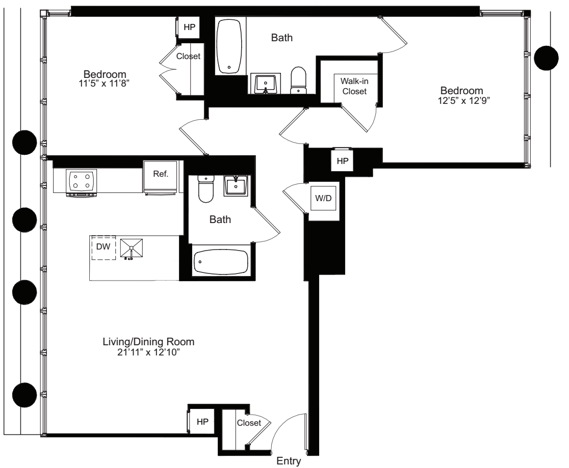 Two Bedroom D 15-18