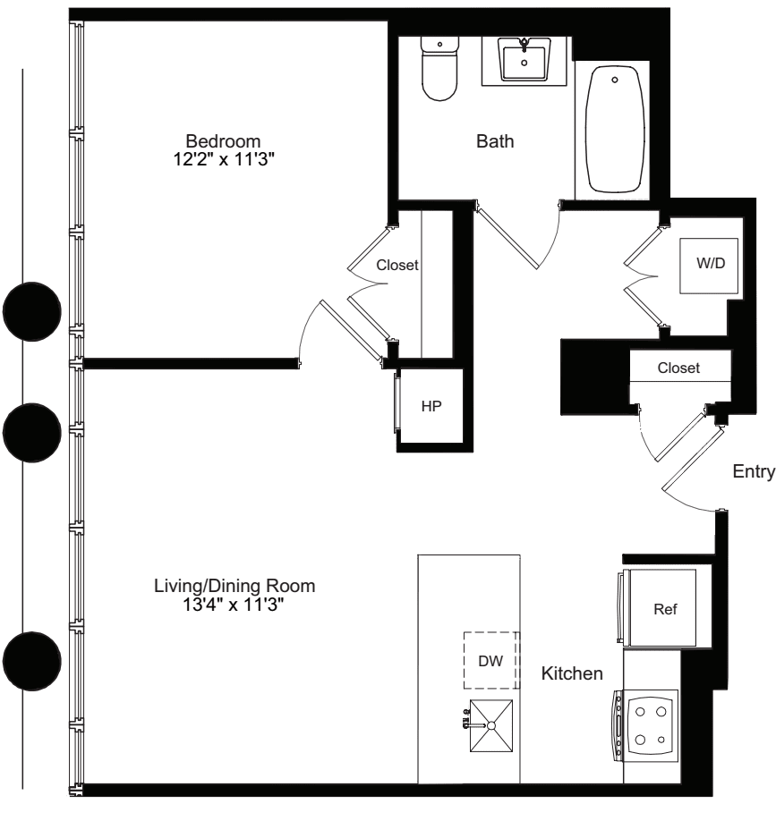 One Bedroom N 3-13